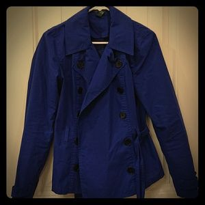 Ralph Lauren pea or trench coat